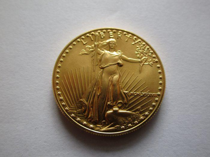 Die Rückseite des American Eagle