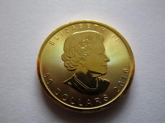 Das Ahornblatt aus Gold